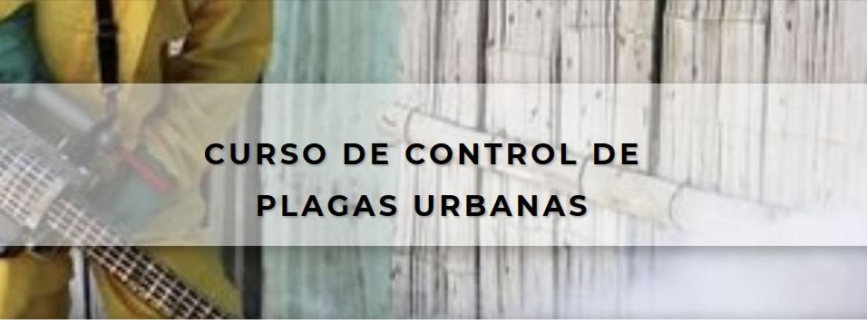 curso de control de plagas urbanas